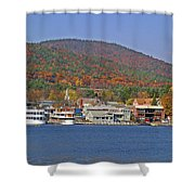 Lake George  13  Shower Curtain