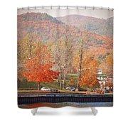 Lake George 15 Shower Curtain
