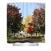 Lake George  3 Shower Curtain