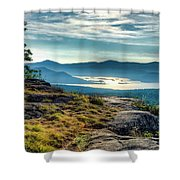 Lake George From Cat Mountain 1 Shower Curtain