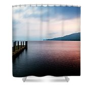 Lake George Sunrise 3 Shower Curtain