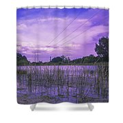 Lake Grass Shower Curtain