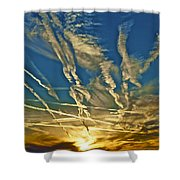 Lake Havasu Sunset Shower Curtain
