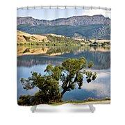 Lake Hayes New Zealand Shower Curtain