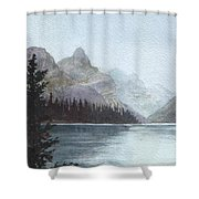 Lake Helevorn Shower Curtain