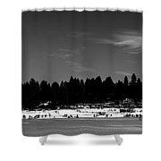 Lake Houses Shower Curtain