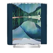 Lake In Austria Shower Curtain