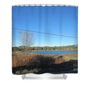 Lake In Lakeside Shower Curtain
