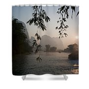 Lake In Mountain Area Shower Curtain by Keith Levit