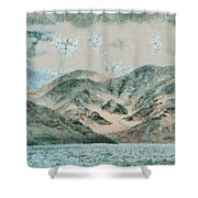 Lake In The Mountains Shower Curtain