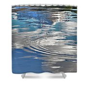 Lake In The Sky Shower Curtain