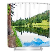Lake Irene 12-3 Shower Curtain