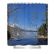 Lake Jenny Shower Curtain