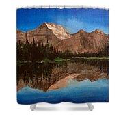 Lake Josephine  Shower Curtain