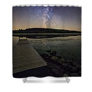 Lake Lakota Way Shower Curtain