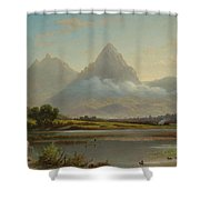Lake Lauerz Shower Curtain