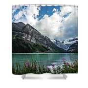 Lake Louise Day One Shower Curtain