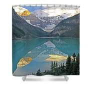Lake Louise Sunrise Shower Curtain