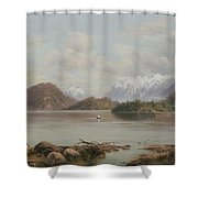 Lake Manapouri Shower Curtain