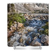 Lake Marie Of The Snowy Range Shower Curtain