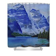 Lake Marine Shower Curtain