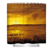 Lake Massabesic - Auburn New Hampshire Usa Shower Curtain