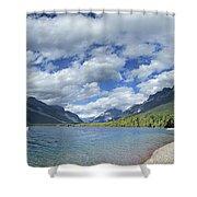 Lake Mcdonald - Glacier National Park Shower Curtain