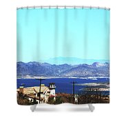 Lake Mead Las Vegas Shower Curtain