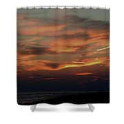 Lake Michigan Sunset Photograph Shower Curtain