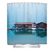 Lake Minnewanka Shower Curtain