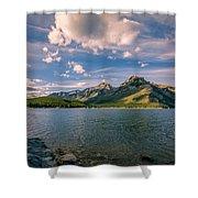 Lake Minnewanka Banff II Shower Curtain
