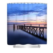 Lake Monroe At Twilight Shower Curtain