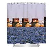 Lake Murray S C 2 Shower Curtain