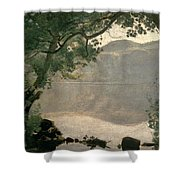 Lake Nemi Shower Curtain
