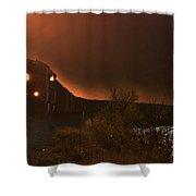 Lake Nickajack Sunset Shower Curtain