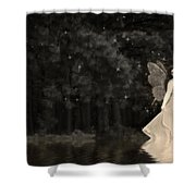Lake Nymph Shower Curtain