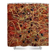 Lake Of Fire Shower Curtain