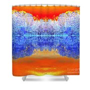 Lake Of Many Colors  Shower Curtain