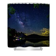 Lake Of Stars Shower Curtain