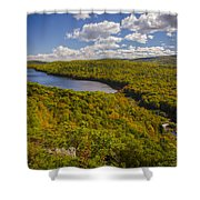 Lake Of The Clouds Shower Curtain