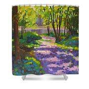 Lake Of The Hills Shower Curtain
