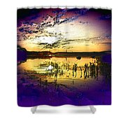 Lake Of The Sleeping Souls Shower Curtain