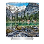 Lake O'hara At Dusk Shower Curtain