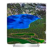 Lake O'hara Shower Curtain
