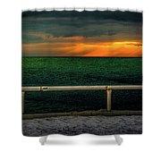 Lake Ontario Dawn Shower Curtain