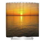 Lake Ontario Sunset Shower Curtain