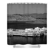 Lake Palace Hotel Shower Curtain