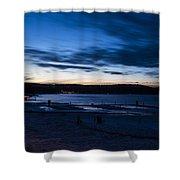 Lake Payette Shower Curtain