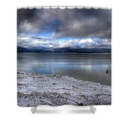 Lake Pend D'oreille At 41 South Shower Curtain