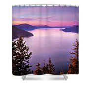 Lake Pend Oreille 2 Shower Curtain